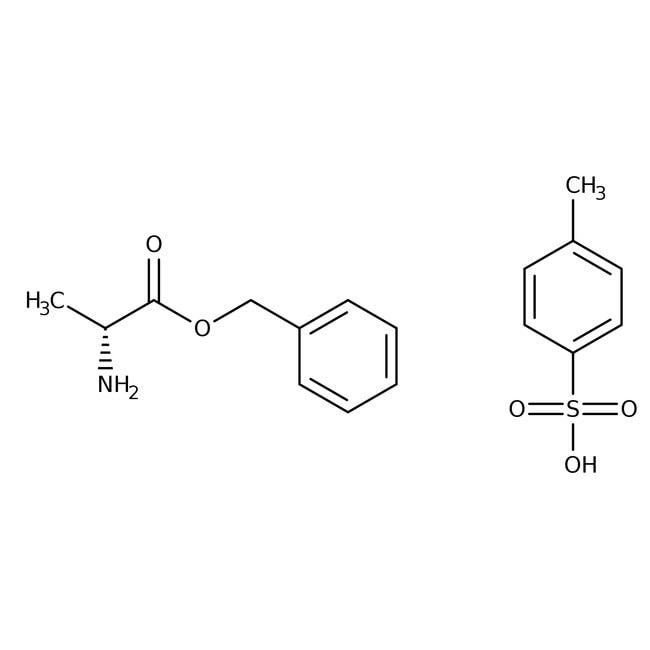 Alfa Aesar™D-Alanine benzyl ester p-toluenesulfonate, 98% 25g Alfa Aesar™D-Alanine benzyl ester p-toluenesulfonate, 98%