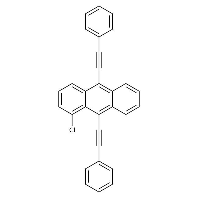 1 Chloro 910 Bisphenylethynylanthracene TCI AmericaTM