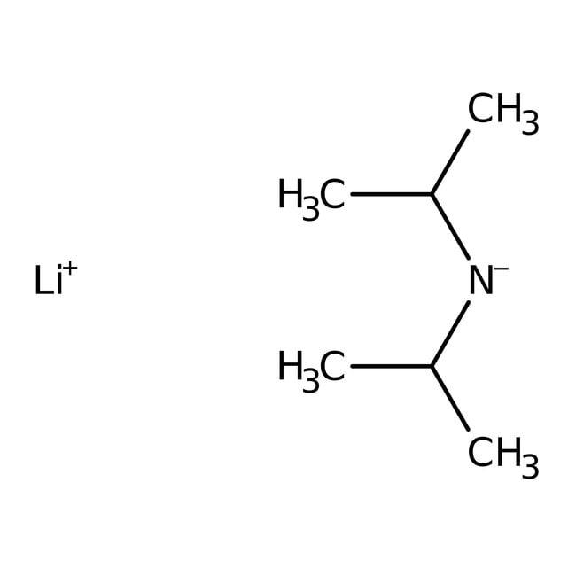Lithium diisopropylamide, 2M sol. in THF/n-heptane/ethylbenzene, AcroSeal™, ACROS Organics™