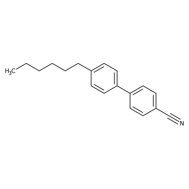 Alfa Aesar™4-Cyano-4'-n-hexylbiphenyl, 97%