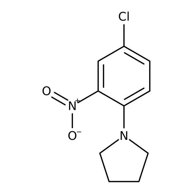 Alfa Aesar  1-(4-Chloro-2-nitrophenyl)pyrrolidine, 97%