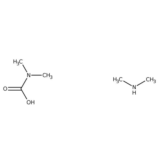 Dimethylammonium-dimethylcarbamate, ratio carbon dioxide/dimethylamine <2:1, ACROS Organics™
