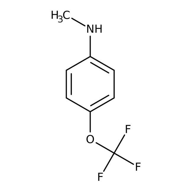 N1-Methyl-4-(trifluoromethoxy)anilin, 95 %, Maybridge 25 g N1-Methyl-4-(trifluoromethoxy)anilin, 95 %, Maybridge