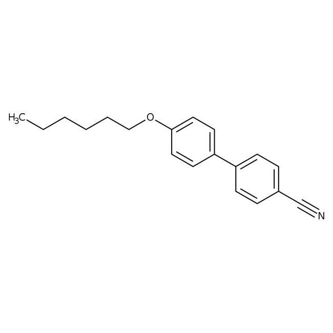 Alfa Aesar™4-Cyano-4'-n-hexyloxybiphenyl, 97%