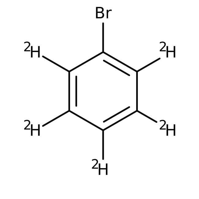 Alfa Aesar™Bromobenzene-d5, 99% (Isotopic) 10g Alfa Aesar™Bromobenzene-d5, 99% (Isotopic)