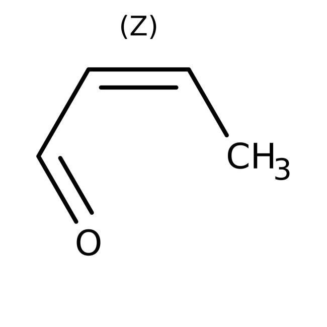 Crotonaldehyde, 99+%, ACROS Organics™ 500mL Crotonaldehyde, 99+%, ACROS Organics™