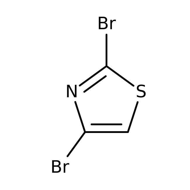 Alfa Aesar™2,4-Dibromothiazole, 97%