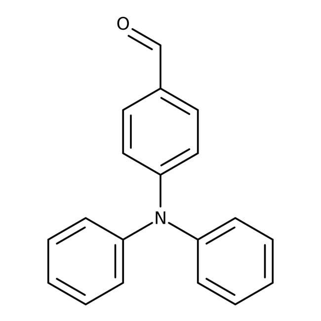 Alfa Aesar™4-(Diphenylamino)Benzaldehyd, 98% 5g Alfa Aesar™4-(Diphenylamino)Benzaldehyd, 98%