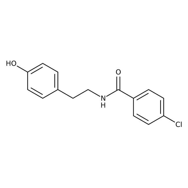 4-Chloro-N-[2-(4-hydroxyphenyl)ethyl]benzamide, 97%, Alfa Aesar™