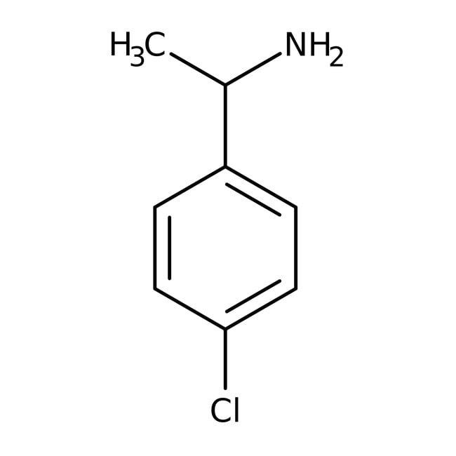 Alfa Aesar™(S)-(-)-1-(4-Chlorophenyl)ethylamine, ChiPros™ 97%, ee 98%