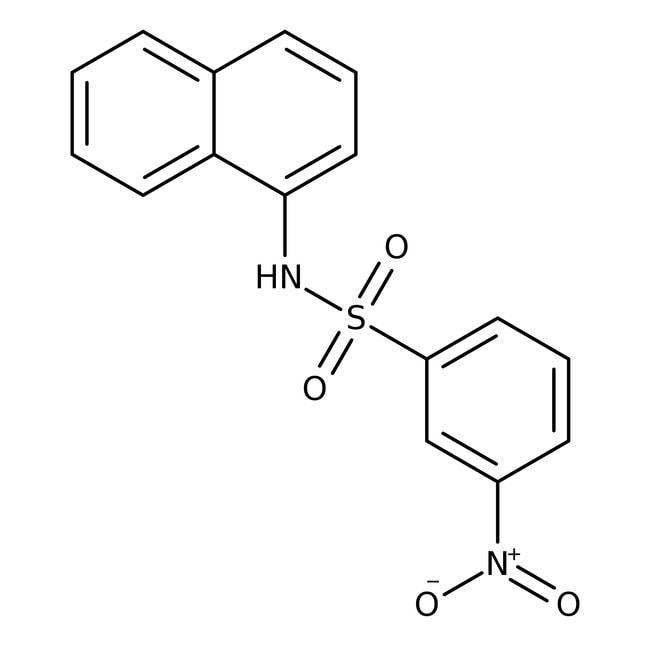Alfa Aesar™N-(1-Naphthyl)-3-nitrobenzenesulfonamide, 97% 100mg Alfa Aesar™N-(1-Naphthyl)-3-nitrobenzenesulfonamide, 97%