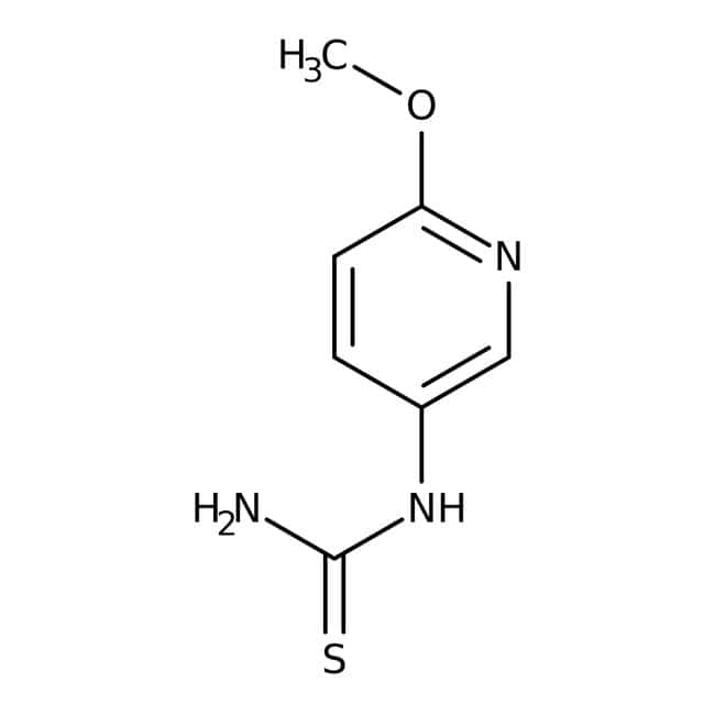 Alfa Aesar™N-(6-Methoxy-3-pyridyl)thiourea, 97% 1g Alfa Aesar™N-(6-Methoxy-3-pyridyl)thiourea, 97%
