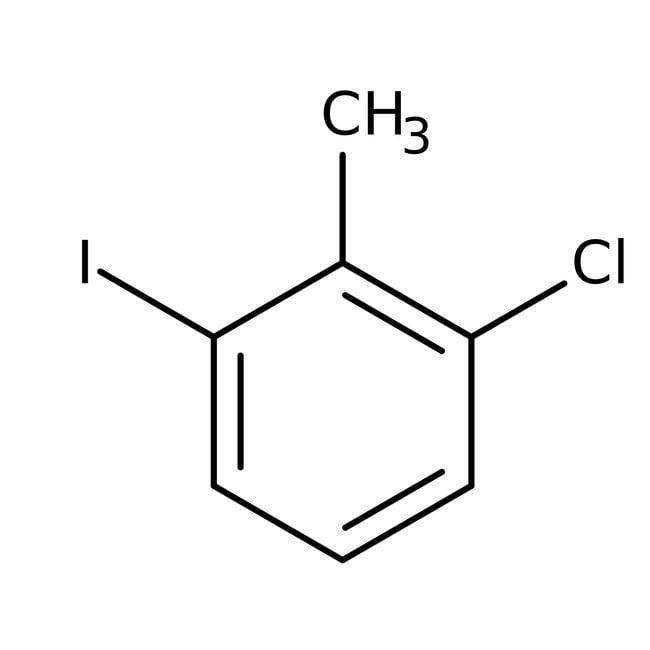 Alfa Aesar™2-Cloro-6-yodotolueno, 98% 25g Alfa Aesar™2-Cloro-6-yodotolueno, 98%