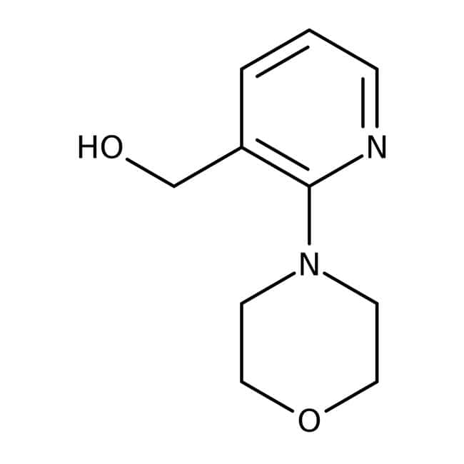 (2-Morpholino-3-pyridinyl)methanol, 97%, Maybridge™ Amber Glass Bottle; 250mg (2-Morpholino-3-pyridinyl)methanol, 97%, Maybridge™