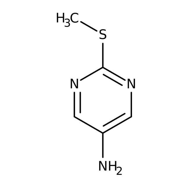 5-Amino-2-(Methylthio)pyrimidin, 96 %, Acros Organics™ 1g 5-Amino-2-(Methylthio)pyrimidin, 96 %, Acros Organics™