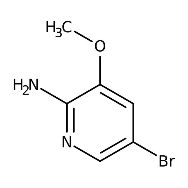 Alfa Aesar™2-Amino-5-bromo-3-methoxypyridine, 96% 1g Alfa Aesar™2-Amino-5-bromo-3-methoxypyridine, 96%
