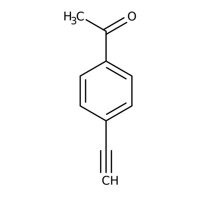 4'-Ethynylacetophenone, 98%, ACROS Organics™ 1g; Glass bottle 4'-Ethynylacetophenone, 98%, ACROS Organics™