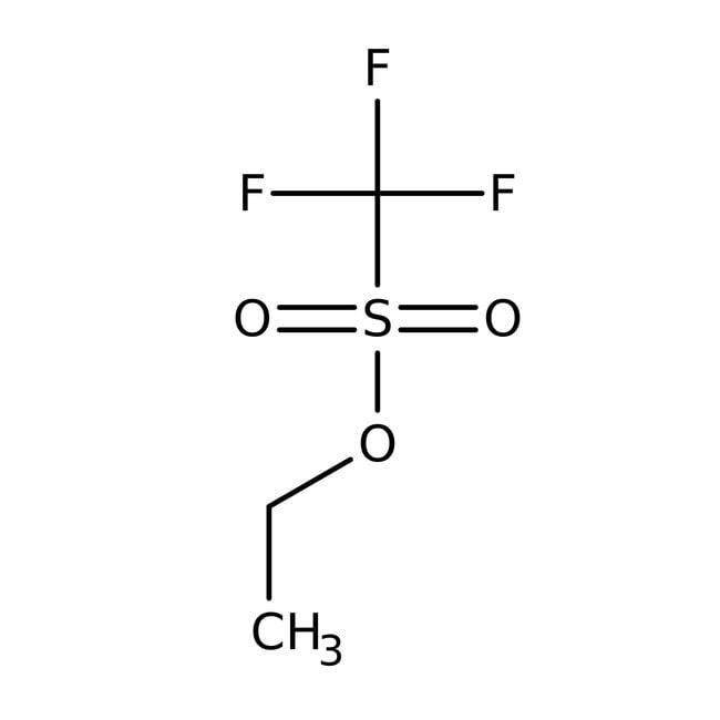 Ethyltrifluormethansulfonat, 98%, ACROS Organics™ 1g, Glasflasche Ethyltrifluormethansulfonat, 98%, ACROS Organics™