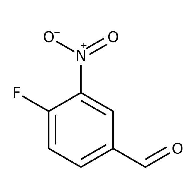 4-Fluoro-3-nitrobenzaldehyde, 97%, Maybridge™ Amber Glass Bottle; 1g 4-Fluoro-3-nitrobenzaldehyde, 97%, Maybridge™