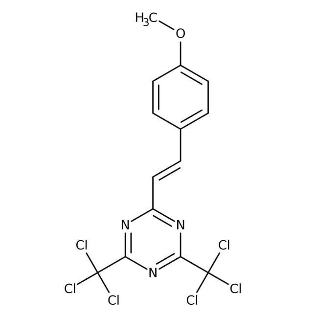 2-(4-Methoxystyryl)-4,6-bis(trichloromethyl)-1,3,5-triazine 98.0+%, TCI America™