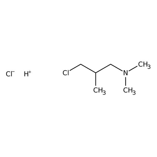 3-Dimethylamino-2-methylpropyl chloride hydrochloride, 98%, ACROS Organics™