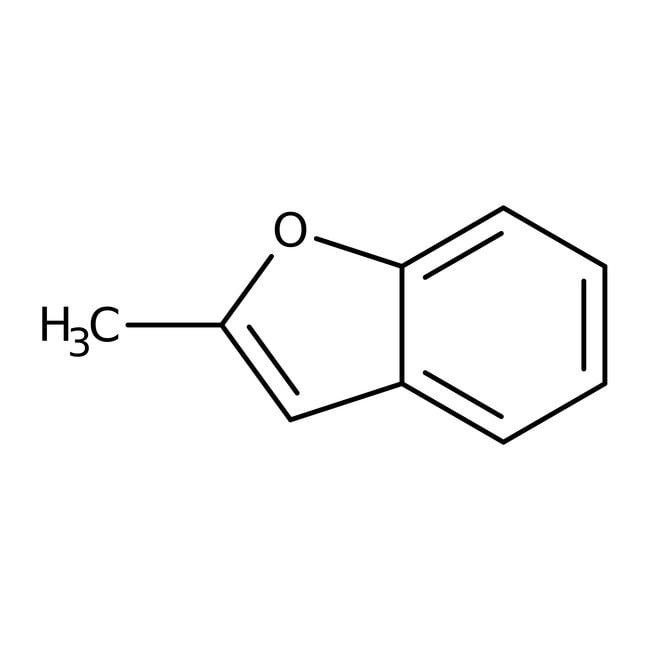 2-Methylbenzofuran, 96%, ACROS Organics™ 1g; Glass bottle 2-Methylbenzofuran, 96%, ACROS Organics™