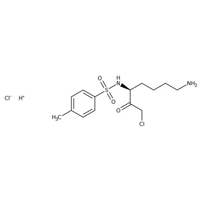 (3S)-1-Chloro-3-tosylamido-7-amino-2-heptanone hydrochloride, 98%, ACROS Organics™
