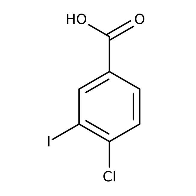 4-Chloro-3-iodobenzoic acid, 97%, Acros Organics™ 1g 4-Chloro-3-iodobenzoic acid, 97%, Acros Organics™