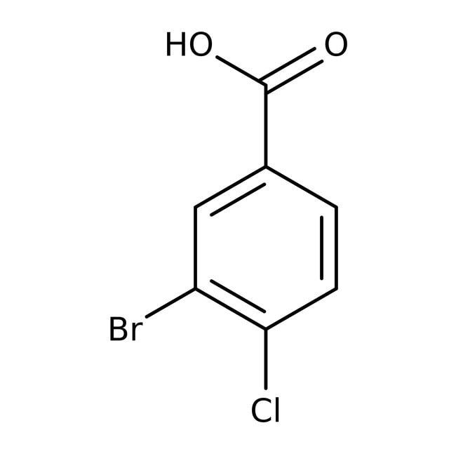 3-Bromo-4-chlorobenzoic acid, 97%, ACROS Organics™