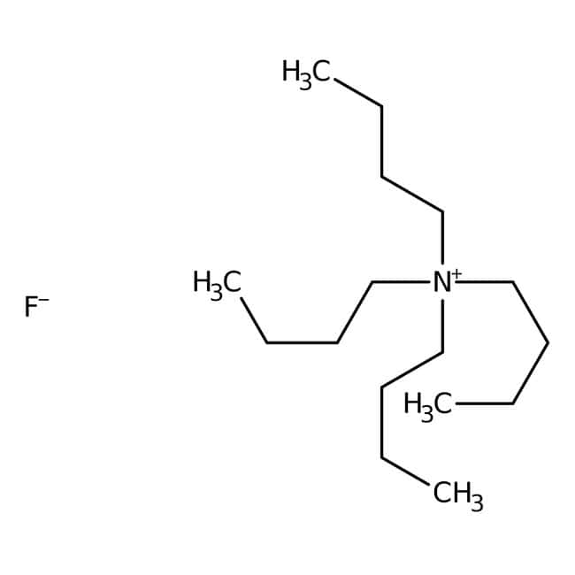 Tetrabutylammonium fluoride, 1M solution in THF, containing ca. 5% water, ACROS Organics