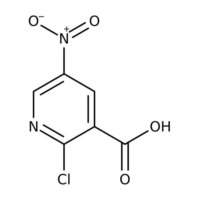 Alfa Aesar™2-Chlor-5-nitronicotinsäure, 95% 1g Alfa Aesar™2-Chlor-5-nitronicotinsäure, 95%