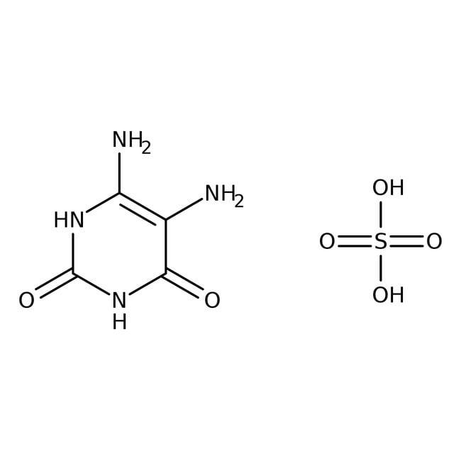 5,6-Diaminouracil sulfate, 95%, ACROS Organics™ 50g 5,6-Diaminouracil sulfate, 95%, ACROS Organics™