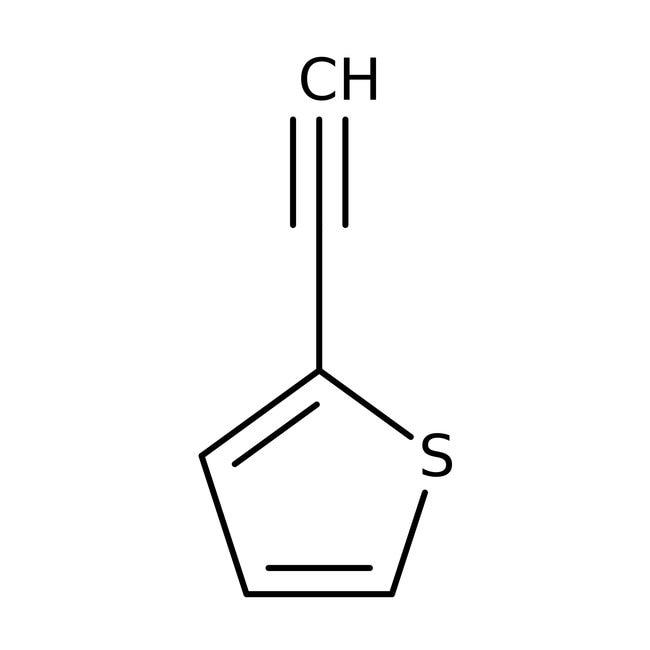 2-Ethynylthiophene, ≥90%, Maybridge™ Amber Glass Bottle; 250mg 2-Ethynylthiophene, ≥90%, Maybridge™