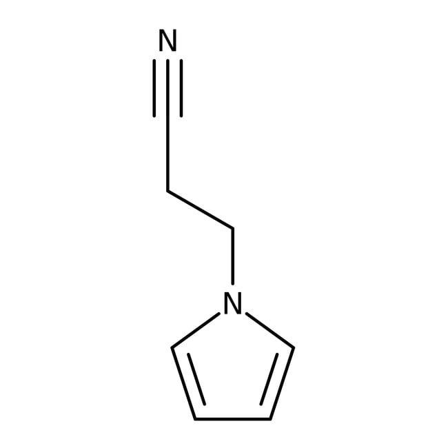3-(1H-Pyrrol-1-yl)propannitril, 97%, Maybridge 10g 3-(1H-Pyrrol-1-yl)propannitril, 97%, Maybridge