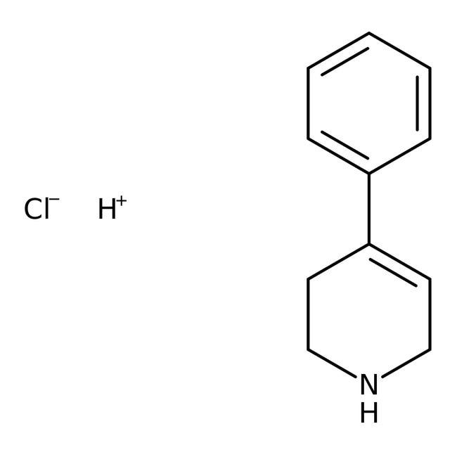 4-Phenyl-1,2,3,6-tetrahydropyridine hydrochloride, 99%, ACROS Organics™