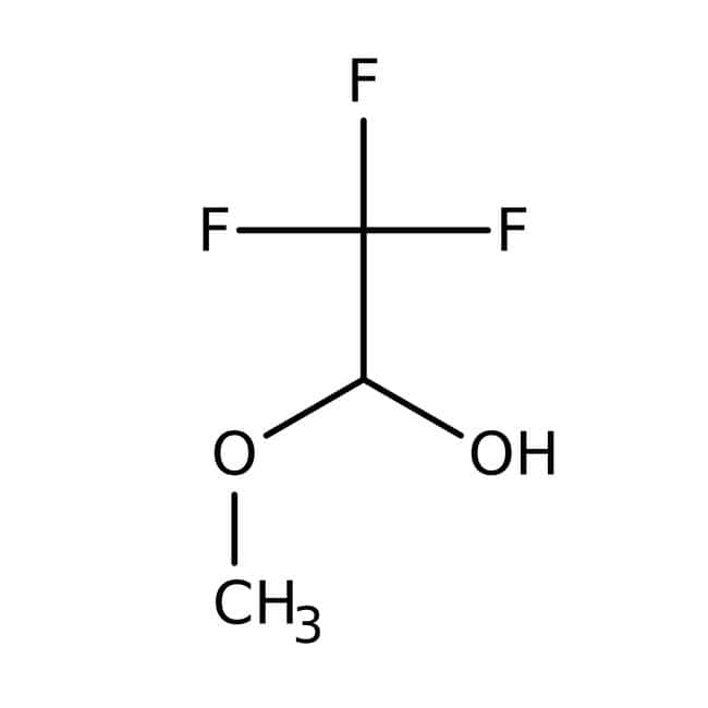 Trifluoroacetaldehyde methyl hemiacetal, 90%, technical, Acros Organics