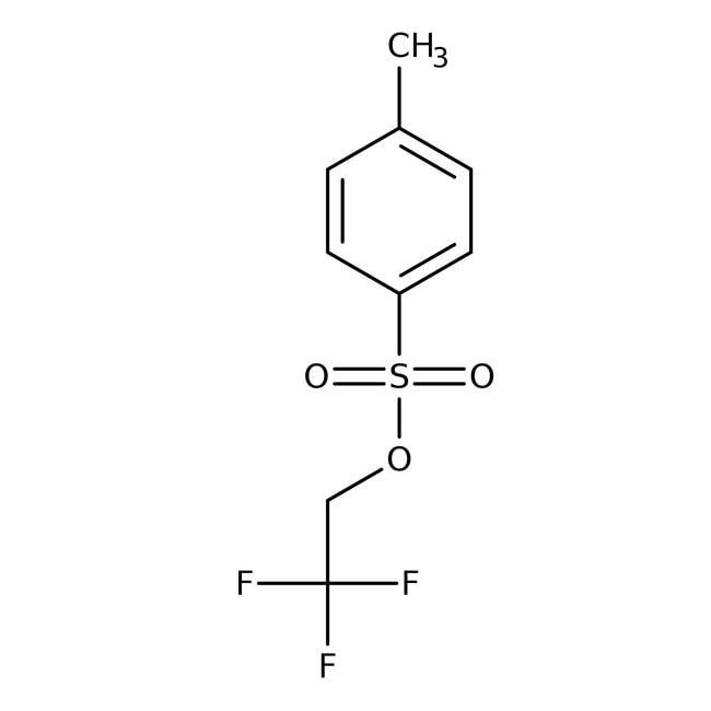 Alfa Aesar™2,2,2-Trifluoroethyl p-toluenesulfonate, 98+% 100g Alfa Aesar™2,2,2-Trifluoroethyl p-toluenesulfonate, 98+%