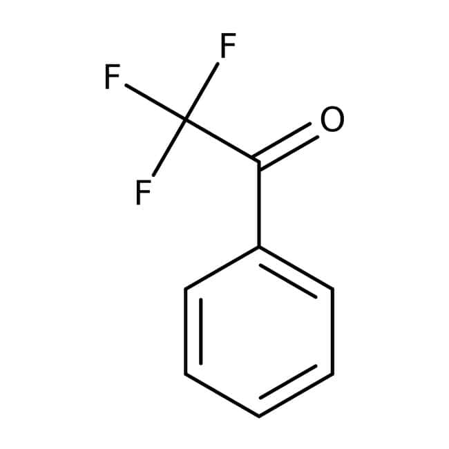 α,α,α-Trifluoroacetophenone, 99%, Acros Organics™ Glass bottle; 5g α,α,α-Trifluoroacetophenone, 99%, Acros Organics™