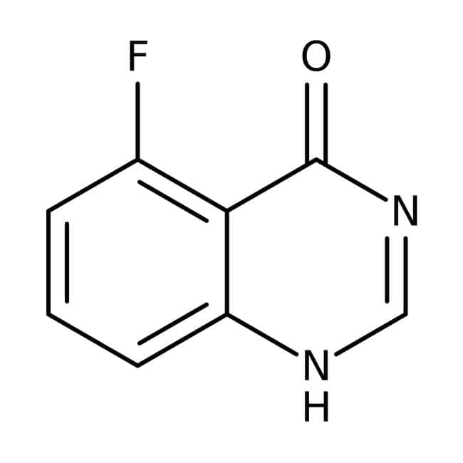 5-Fluoroquinazolin-4-ol, 97 %, Maybridge Braunglasflasche, 1 g 5-Fluoroquinazolin-4-ol, 97 %, Maybridge