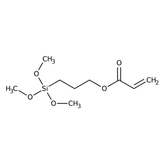 3-(Trimethoxysilyl)propyl acrylate, 90%, stabilized, ACROS Organics™