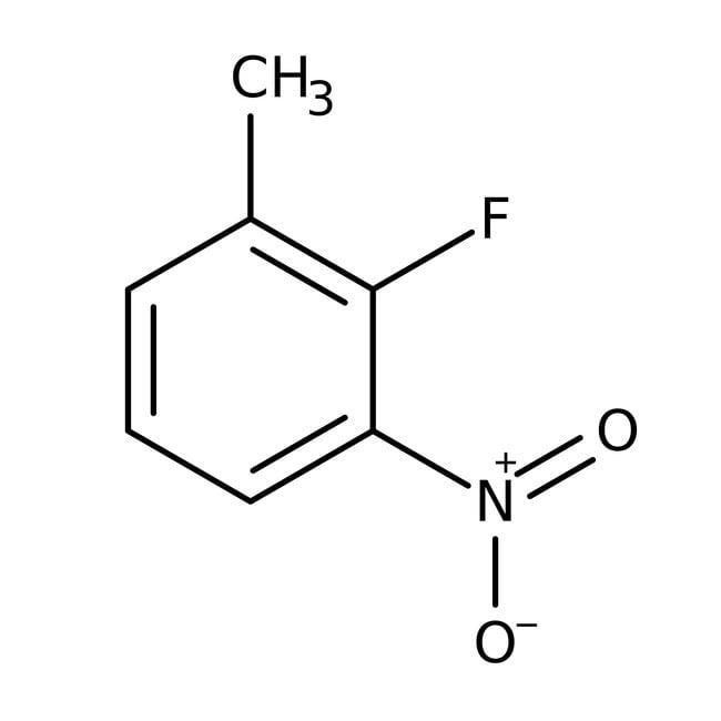 Alfa Aesar™2-Fluoro-3-nitrotoluene, 98% 100g Alfa Aesar™2-Fluoro-3-nitrotoluene, 98%