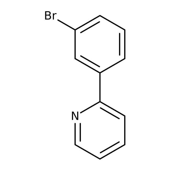 2-(3-bromophényl)pyridine, 97%, Acros Organics™: Pyridines and derivatives Organoheterocyclic compounds