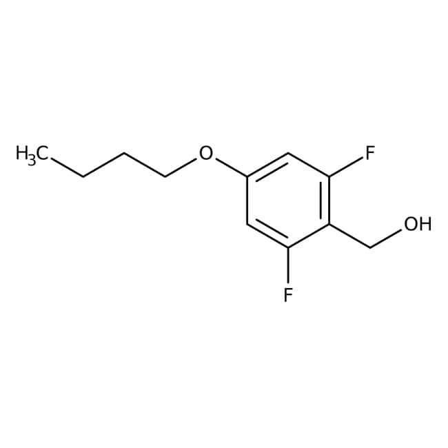 Alfa Aesar™4-n-Butoxy-2,6-Difluorbenzylalkohol, 97% 250mg Alfa Aesar™4-n-Butoxy-2,6-Difluorbenzylalkohol, 97%