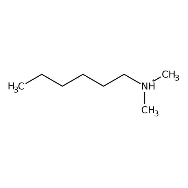 N,N-Dimethylhexylamine, 99%, ACROS Organics™ 25g; Glass bottle N,N-Dimethylhexylamine, 99%, ACROS Organics™