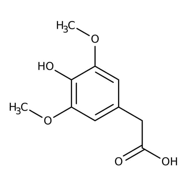 4-Hydroxy-3,5-dimethoxyphenylacetic Acid 98.0+%, TCI America™