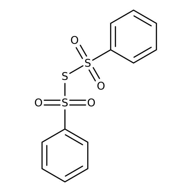 Bis(phenylsulfonyl)sulfide, 96%, ACROS Organics™ 5g; Glass bottle prodotti trovati