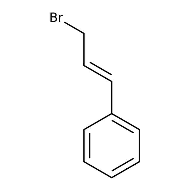 Cinnamyl bromide, 97%, predominantly trans, Acros Organics 100g; Glass bottle Cinnamyl bromide, 97%, predominantly trans, Acros Organics