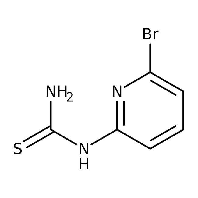 Alfa Aesar™N-(6-Bromo-2-pyridyl)thiourea, 97% 1g Alfa Aesar™N-(6-Bromo-2-pyridyl)thiourea, 97%