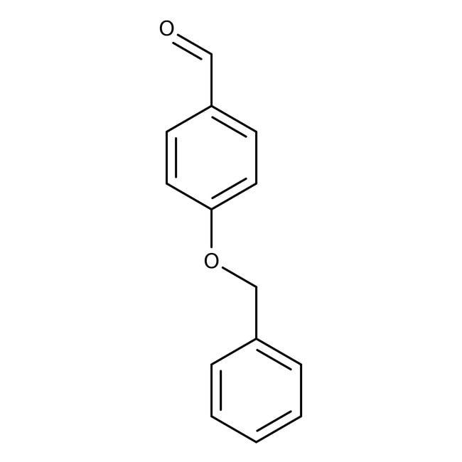 4-Benzyloxybenzaldehyde, 98%, Acros Organics 100g; Glass bottle 4-Benzyloxybenzaldehyde, 98%, Acros Organics