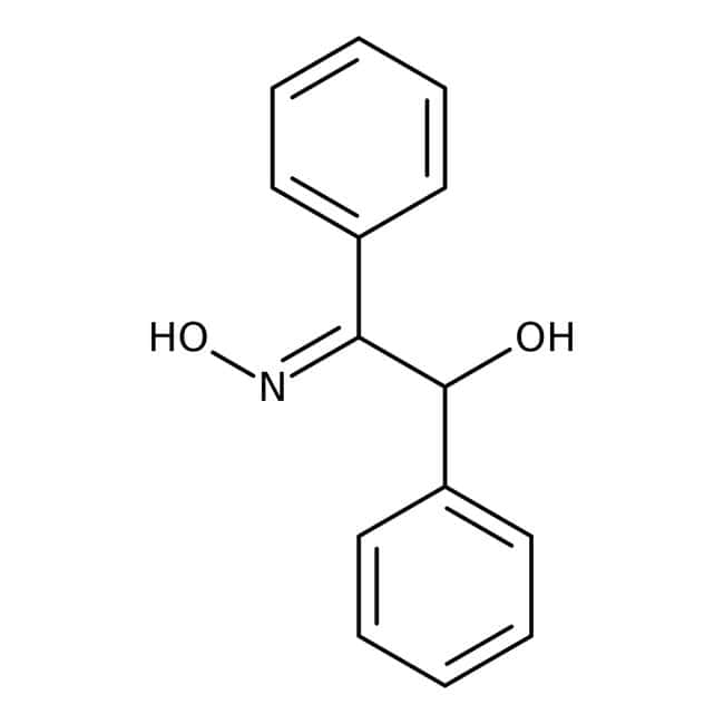 alpha-Benzoin oxime, 98%, ACROS Organics™ 500g; Glass bottle alpha-Benzoin oxime, 98%, ACROS Organics™